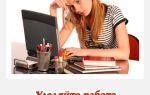 Как написать курсовую работу