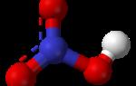 Формула азотистой кислоты в химии