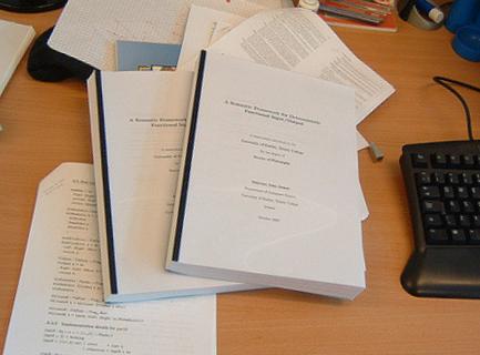 Оформление титульного листа курсовой работы