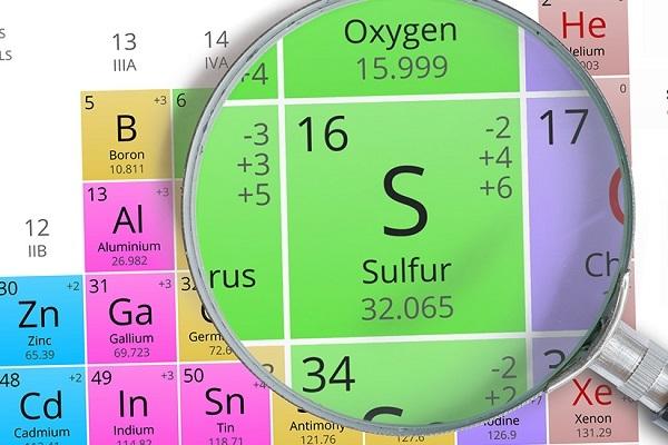Строение атома серы (s), схема и примеры