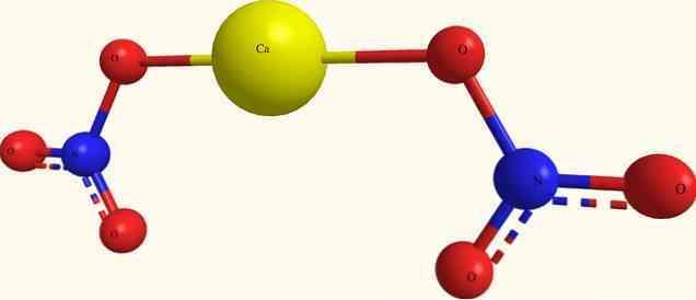 Формула нитрата кальция в химии
