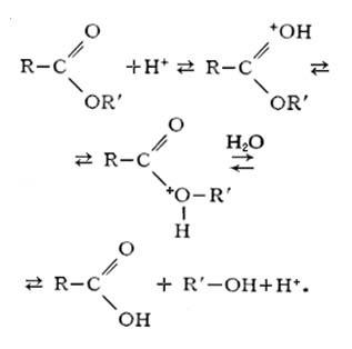 Кислотный гидролиз, уравнения и примеры