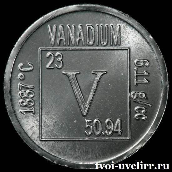Ванадий и его характеристики
