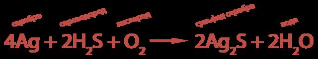 h2s, степень окисления серы и водорода в ней