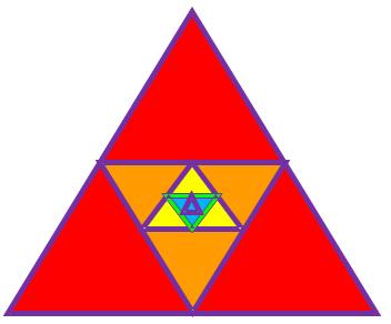 Бесконечная убывающая геометрическая прогрессия