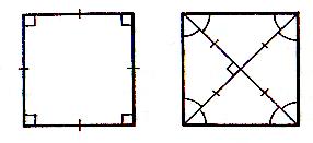 Свойства четырехугольника, с примерами