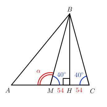 Медиана в прямоугольном треугольнике