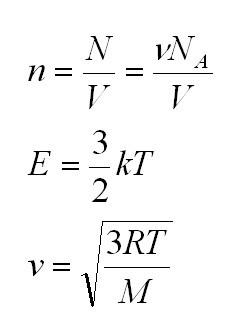 Молярная масса газа, формула и примеры