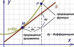 Дифференциал функции: основные понятия и определения