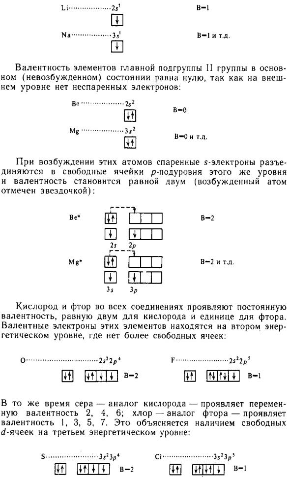 Валентность бора (b), формулы и примеры