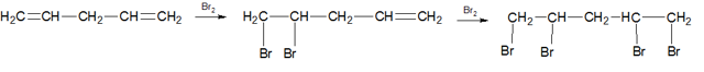 Физические и химические свойства алкадиенов