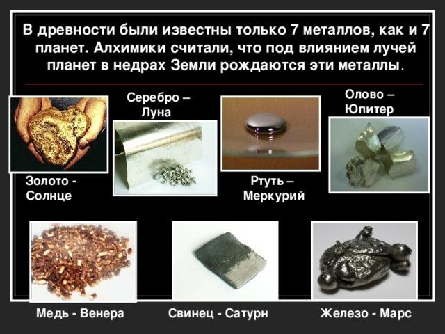 Век медный, бронзовый, железный для химии