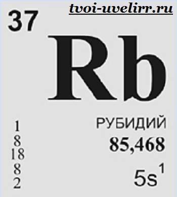 Степень окисления рубидия (rb), формула и примеры
