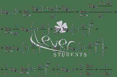 Производная арккосинуса, формула и примеры