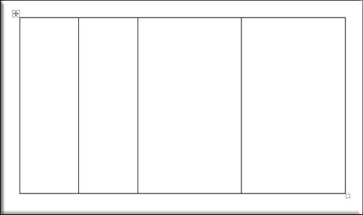Как нарисовать таблицу в Ворде