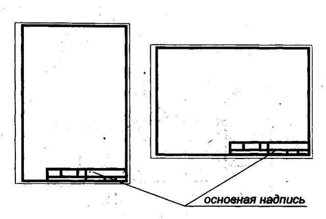 Размеры рамки для чертежа А1