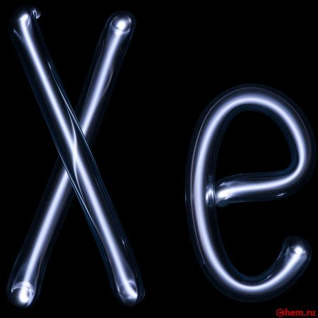 Строение атома ксенона (xe), схема и примеры