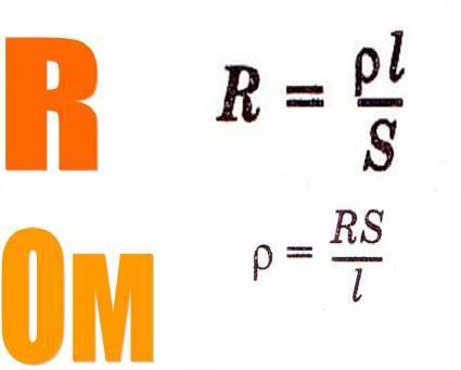 Формула сопротивления