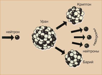 Строение атома урана (u), схема и примеры