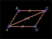 Свойства параллелограмма, с примерами