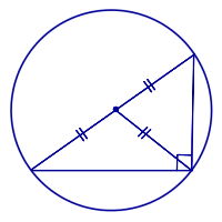 Гипотенуза прямоугольного треугольника, все формулы