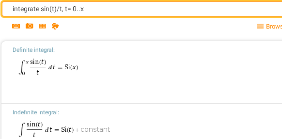 Неберущиеся интегралы, формулы и примеры