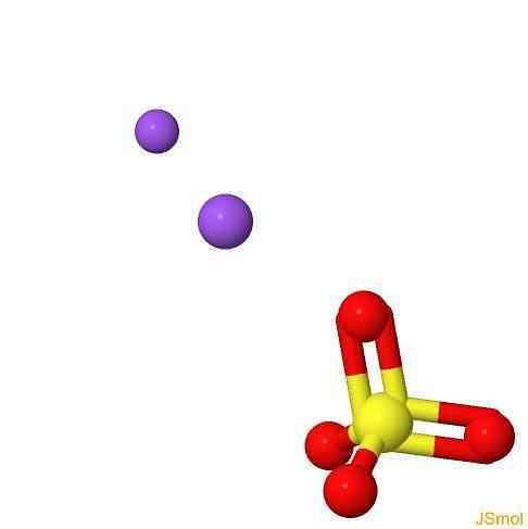 Формула сульфата натрия в химии
