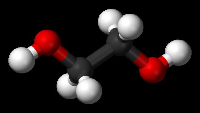 Формула этиленгликоля в химии