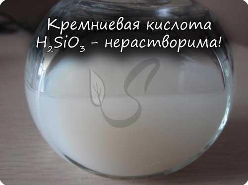 Формула силиката натрия в химии